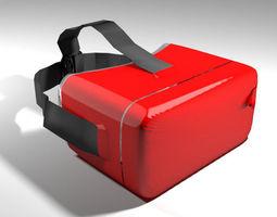 VR Headset - Type 2 3D model