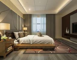 Bedroom Interior 3D asset