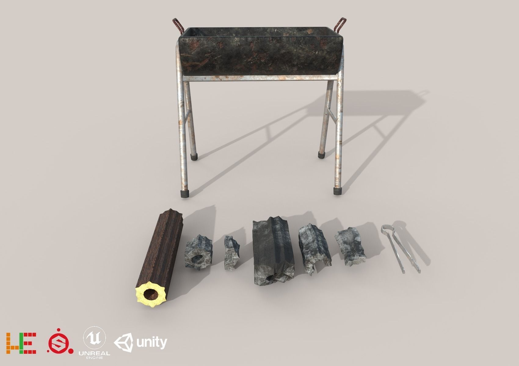 HIE Game Ready Grill Set D180302