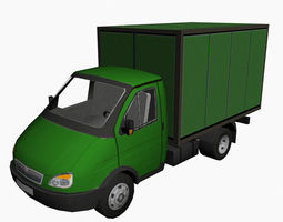 Car for Environment 07 3D Model