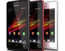 Sony Xperia E All Colors 3D model