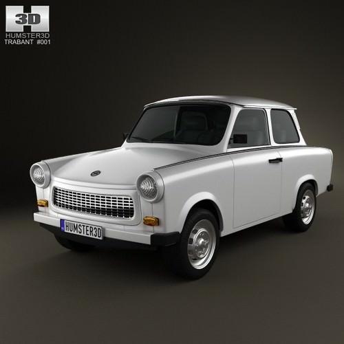 Trabant 601 Sedan 19633D model
