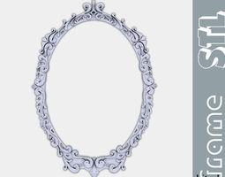 3D printable model Kitsch mirror frame stl