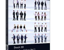 DOSCH 3D - People - Urban Vol 1 blouse