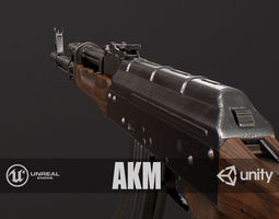 3D asset game-ready PBR AKM