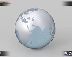 3D World Country Kit ocean-sea