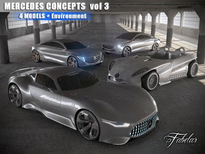 Mercedes Concepts vol 33D model