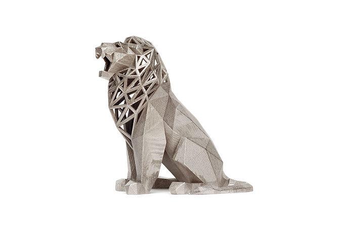 roaring lion 3d model obj mtl stl 1