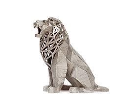 3D printable model Roaring Lion