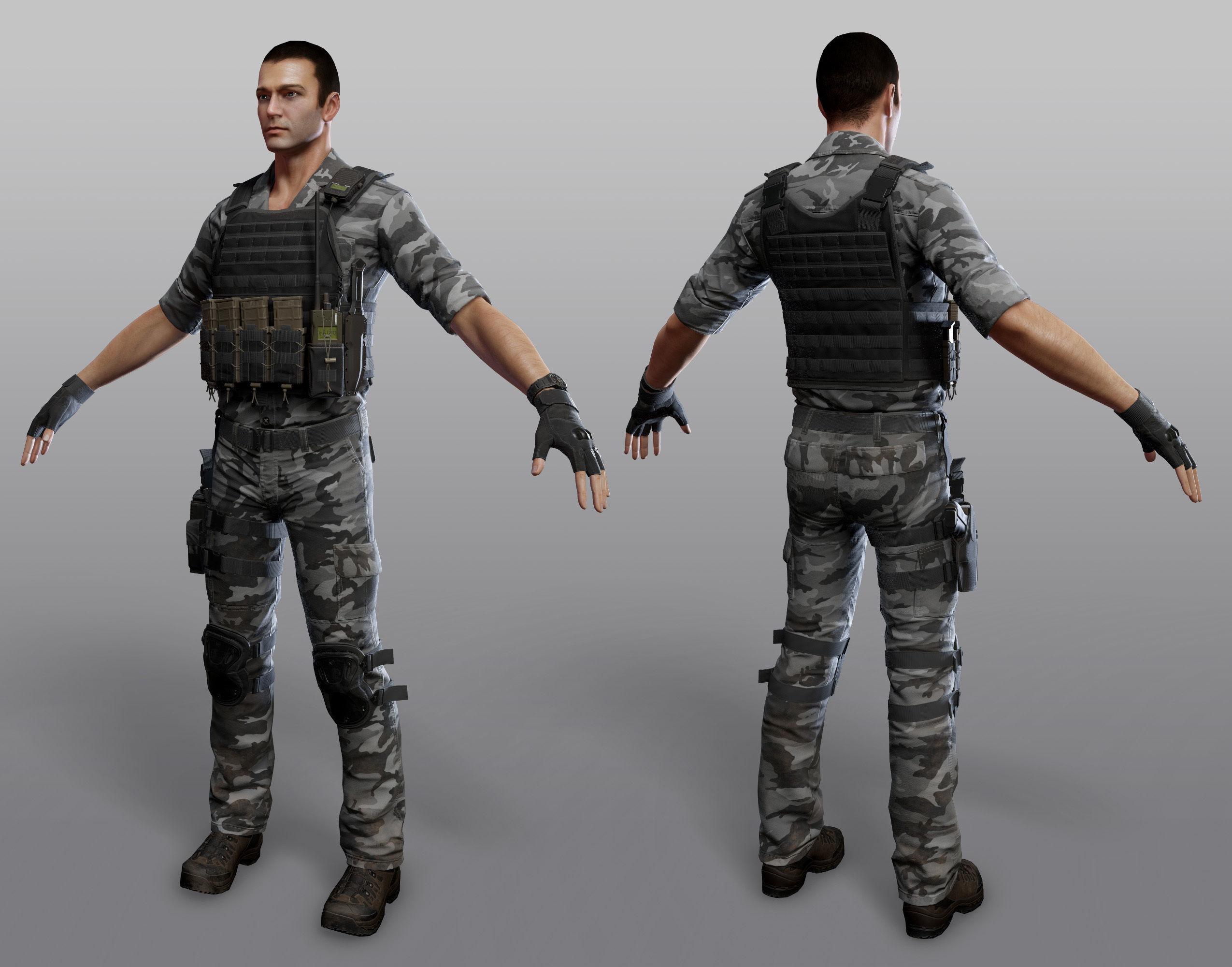 JENNIFER: Army man pics
