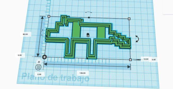 minecraft wolf dog cookie cutter 3d print model