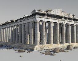 Parthenon 3D asset