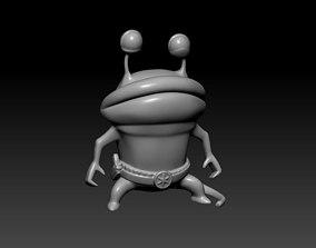 armed alien 3D print model