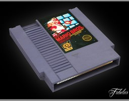 NES cartridge 3D Model