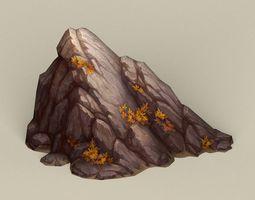 Game Ready Stone Rock 06 3D model