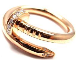 3D print model Love Juste un Clou Ring Stl