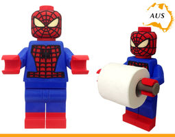3D print model Lego Spider Man Toilet Roll Holder Bathroom
