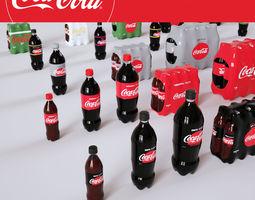 3D Coca Cola Pack