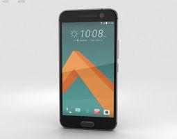 HTC 10 Carbon Gray 3D model htc
