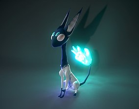 Sphinx With Cold Magic 3D