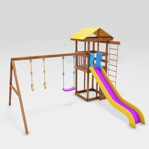 playground cheerful color 3d model max obj mtl fbx 1