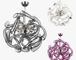 Stella Lightstar Chandelier furniture 3D model