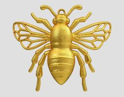 Bee Necklace 3D print model