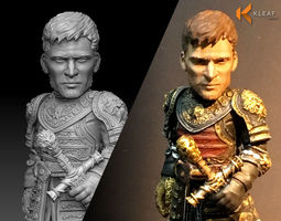 3D print model Game of Thrones - Jaime Lannister