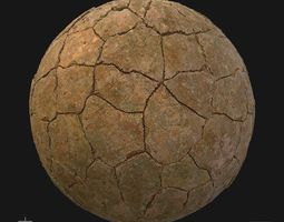 natural 3D model Extraterrestrial Surface