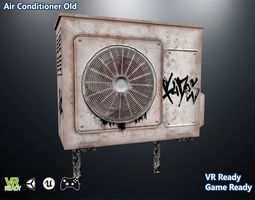 3D model Air Conditioner Old