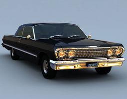 Chevrolet Impala 63 3D Model