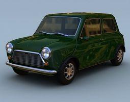 Mini Mark III 1970 3D Model