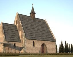 realtime A 3D model of the old church folk building