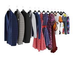 3D Collection clothes 04