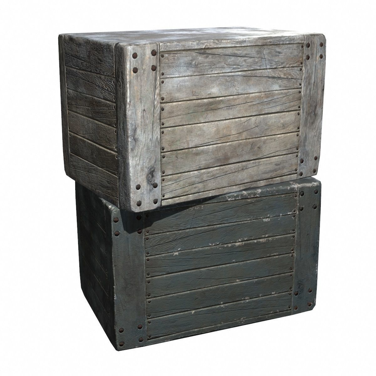 Wood Crate Boxes