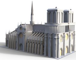 3D model Notre Dame