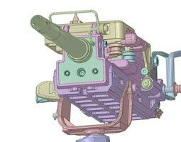 3d hk grenade machine gun