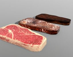 New York Strip Steak 3D model