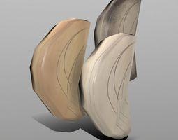 3D model herb Garlic