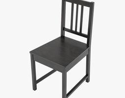 Ikea Stefan Chair PBR 3D model