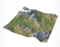 model 3D Mountain
