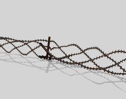 3D model Barbwire