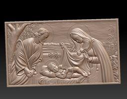 3D model Jesus Family