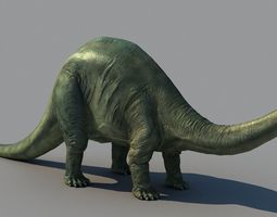 3D Brontosaurus