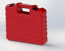 low-poly tool bag 3d model