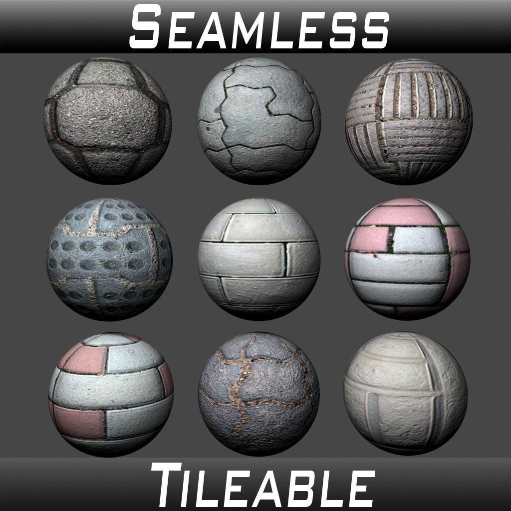 Floor Tiles Texture Pack 3