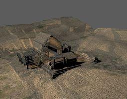 3D Rural Shed