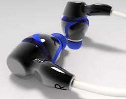 ear phones 3d print model
