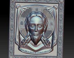 3D model portrait Jesus