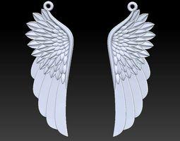 wing pendant 3D